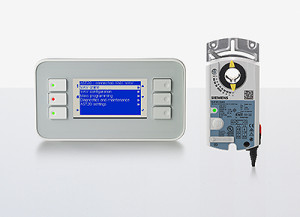Siemens erweitert sein OpenAir-Sortiment für variable Volumenstromsysteme (VAV) um neue VAV-Kompaktregler sowie ein robustes Handbediengerät. Siemens is adding new variable air volume (VAV) compact controllers and a robust handheld operating unit to its OpenAir line of products for VAV systems.