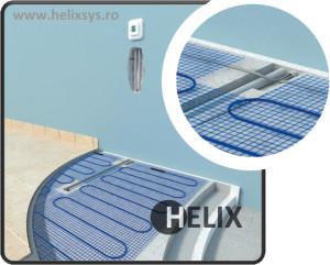 Helix incalzire in pardoseala cu efect direct