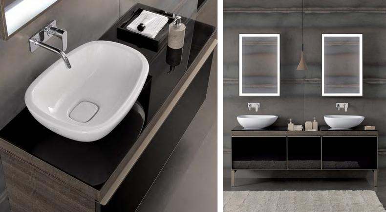 keramag noul brand al grupului geberit introduce noile colectii premium ideale pentru baia ta. Black Bedroom Furniture Sets. Home Design Ideas